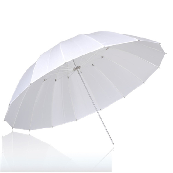 PHOTAREX White Transparent Umbrella - 153cm -