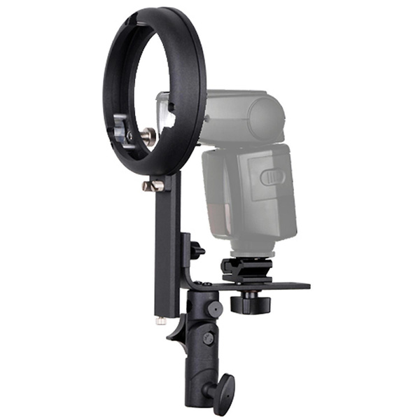 PHOTAREX 4-in-1 Blitzhalter + Beauty Dish 55cm + Wabe