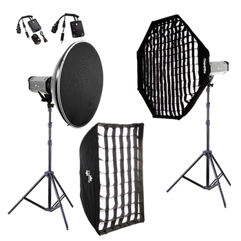 PHOTAREX K400 Flash Head Kit 400Ws/400Ws with Beauty Dish