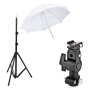 PHOTAREX Flash and Umbrella Bracket Kit for Speedlites -...