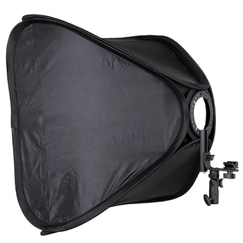 NICEFOTO Rapid Set-up Softbox 60x60cm for On-Camera Flashes