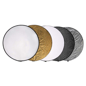 PHOTAREX 5-in-1 Collapsible Reflector Disc with Carrying...