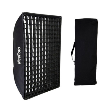 NICEFOTO Rapid Setup Easy Softbox 70×100cm mit Wabe für...