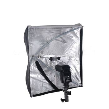 NICEFOTO Rapid Set-up Softbox 70×70cm with Flash Bracket...