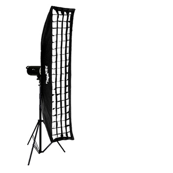 NICEFOTO A400 Flash Head Kit 400Ws + Strip Softbox 30x180cm