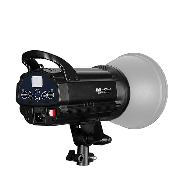 NICEFOTO Pro TB-400 Studioblitz 400Ws | LCD-Display