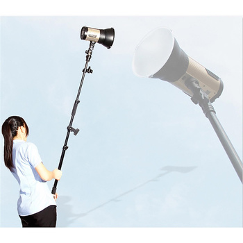 NICEFOTO Telescopic Collapsible Reflector and Flash Head...