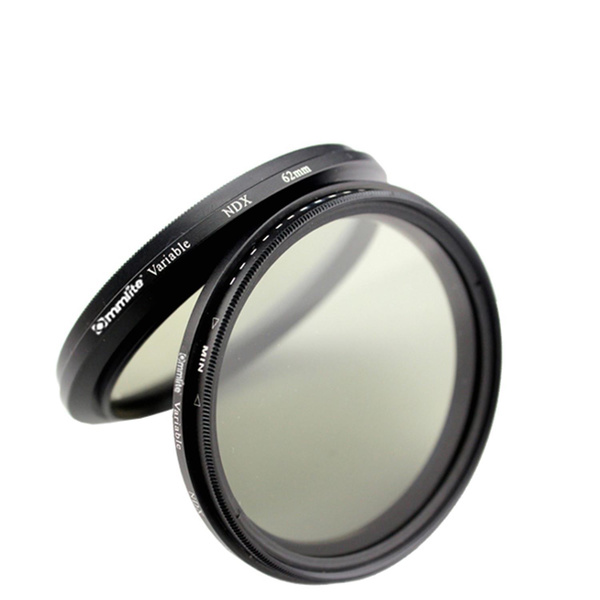 COMSTAR Variable Neutral Density (ND) Filter - 55mm - ND2 to ND400