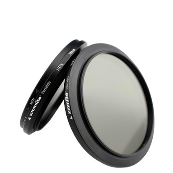 COMSTAR Vario ND Filter Graufilter - 55mm - ND2 bis ND400...