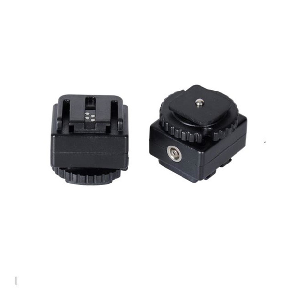 NICEFOTO C-S1 Hot Shoe Adapter - Converts Standard Hot Shoe to Sony Hot Shoe + PC Socket