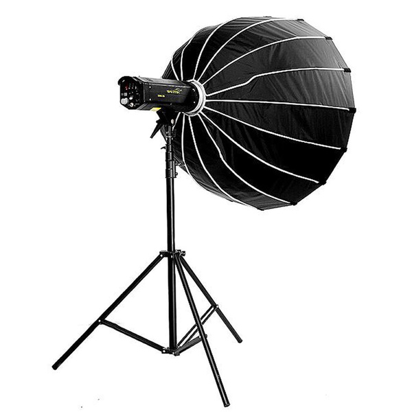PHOTAREX | NICEFOTO Deep Parabolic Softbox 90cm with Fabric Grid and Bowens S-Type Mount