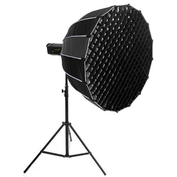 NICEFOTO Deep Parabolic Softbox 90cm with Fabric Grid and...