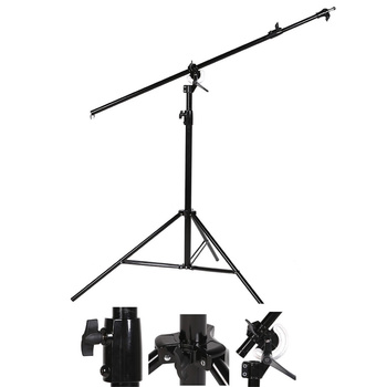 NICEFOTO LS-16 Combi Boom and Light Stand - black