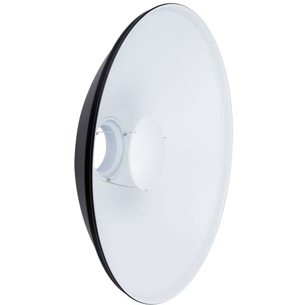 NICEFOTO Beauty Dish | white | with Bowens S-Type Mount | 55cm