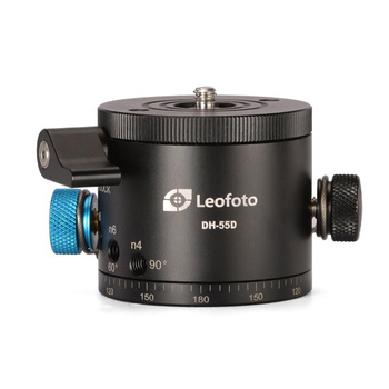 LEOFOTO DH-55D 360° Panoramic Indexing Rotator for Pans