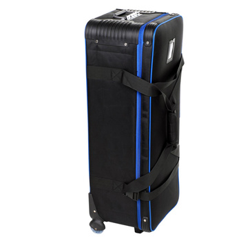 PHOTAREX Studio-Trolley Transportkoffer 82×31×27cm - schwarz