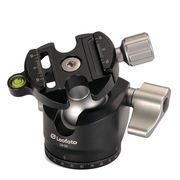 LEOFOTO LH-30 Low Center of Gravity Ball Head - Load Capacity 12 kg