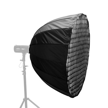 NICEFOTO Easy Deep Parabolic Softbox 120cm with Fabric...