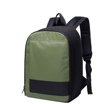 CADEN DELTA-6 Camera Backpack - black / army green