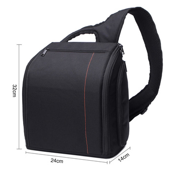CADEN DELTA-8 Sling Camera Bag - Backpack- black