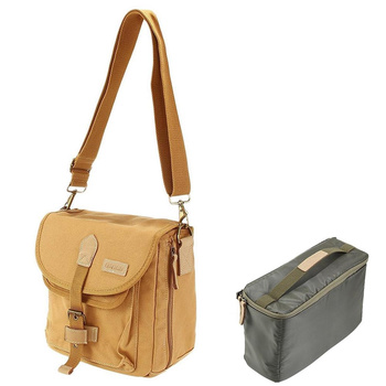 CADEN FOX-11 Camera Bag - Canvas and Micro Fibre -...