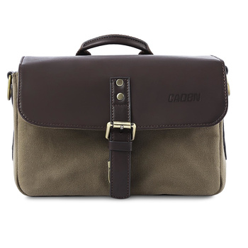 CADEN PUMA-01 Camera Bag made of Canvas and PU -...