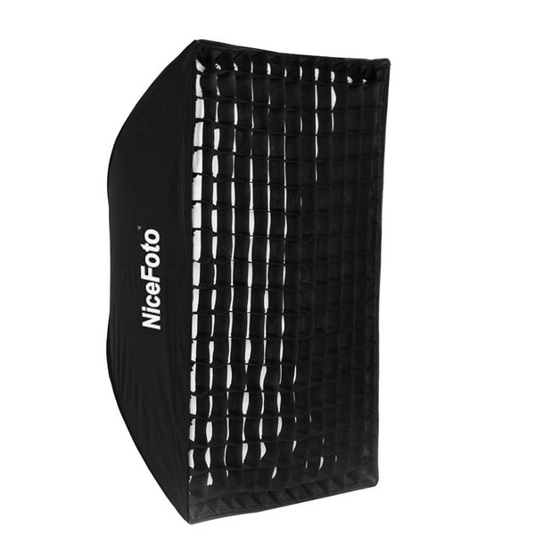 PHOTAREX Rapid Set-up Softbox 80x120cm with Fabric Grid and Bowens S-Type Mount