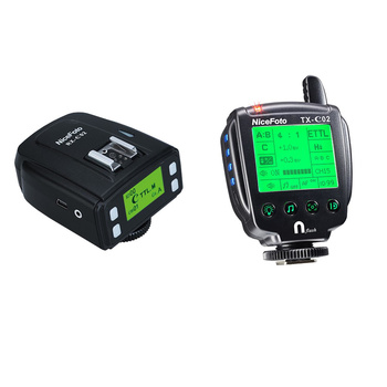 NICEFOTO TTL-C02 Transmitter & Receiver for Monolights &...