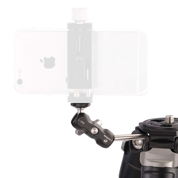 LEOFOTO AM-1 Magic Arm for On-Camera Flash, Smartphone and other Accessories