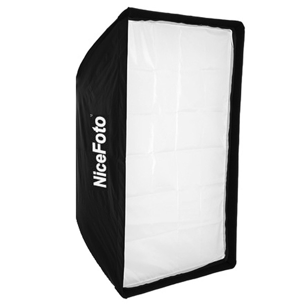 PHOTAREX | NICEFOTO Softbox 80x120cm with Fabric Grid and Bowens S-Type Mount