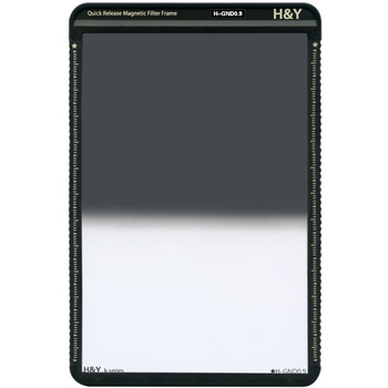 H&Y K-Serie Grauverlaufsfilter 0.9 ND8 Hard 100 x150mm (3...