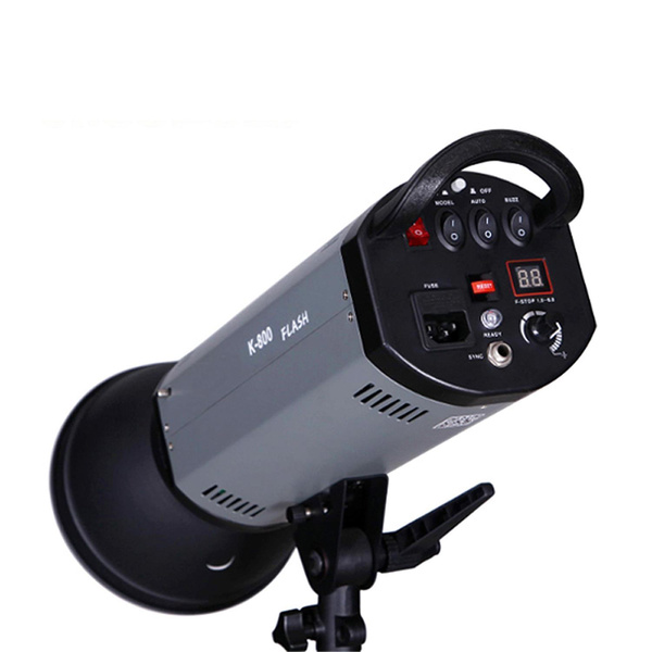 NICEFOTO K400 Studioblitz 400Ws | LCD-Display