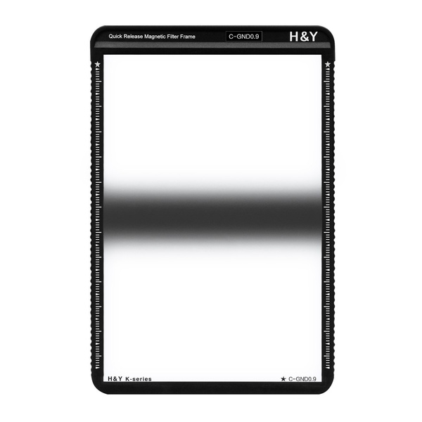 H&Y K-Serie K Series MRC CENTRE GND Square Filter 0.9 / 3-stop