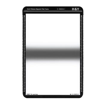 H&Y K Series MRC CENTRE GND Square Filter 0.6 / 2-stop