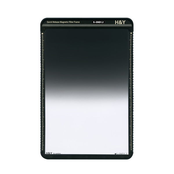 H&Y Filters 100 x 150mm K-Series Soft-Edge Graduated Neutral Density 1.2 Filter (4 Stops)