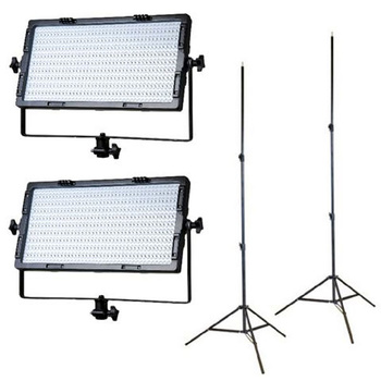 FALCON EYES LPW-820TD Wi-Fi Bi-Color LED Panel Set,...