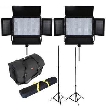 FALCON EYES LPW-600TD  LED Leuchten Set 1