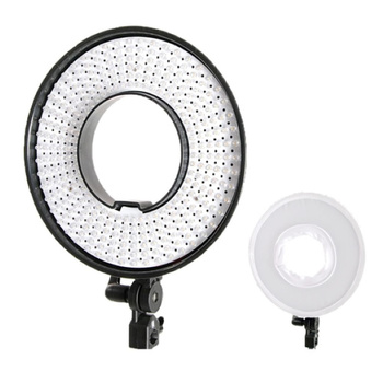 FALCON EYES Bi-Color LED Ring Lamp Dimmable DVR-300DVC on...