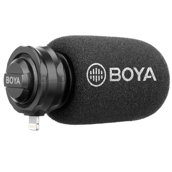 BOYA BY-DM100 Digitales Richtmikrofon für Android USB-C...