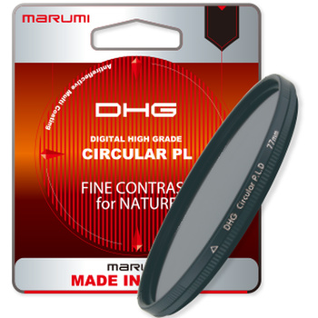 MARUMI DHG zirkulare Polfilter - 37 bis 95mm - Foto + Video