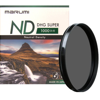 MARUMI Super DHG Graufilter ND1000 - 49 bis 82mm - Foto +...