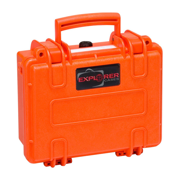 Explorer Cases 2209 Hartschalen Koffer 246x215x112mm orange mit Schaumstoff