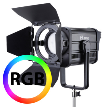 FALCON EYES DM2 200W RGB LED Fresnel Spot, DMX, Dimmbar
