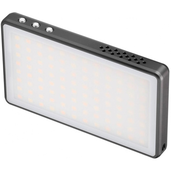 LEOFOTO FL-L120 Bi-Color LED-Panel und Powerbank mit F-19...
