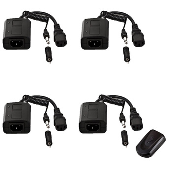 PHOTAREX AC-01 Flash Head Trigger - Kit with 4 Receiver