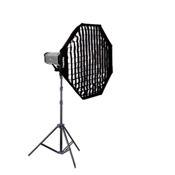 NICEFOTO K400 Flash Head Kit 400Ws + Octa Softbox 95cm