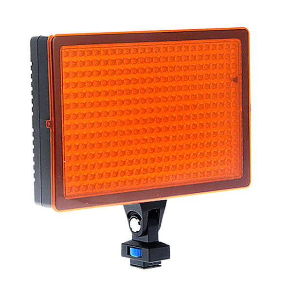NICEFOTO LED-336 Video-Panel inkl. Filter und Fernbedienung 3000 bis 6000K
