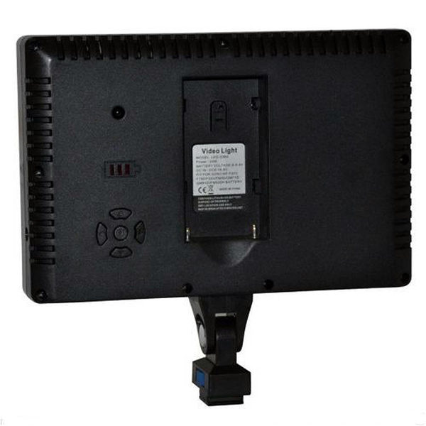 NICEFOTO LED-336 Video Panel - Incl. Filter and Remote Control