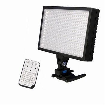 NICEFOTO LED-336 On-Camera LED Light with Filter and...