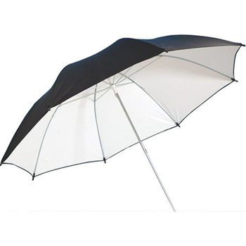 PHOTAREX Parabolic Umbrella Reflector black/silver - 140cm